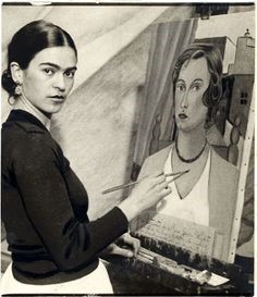 Frida painting Jean Wight