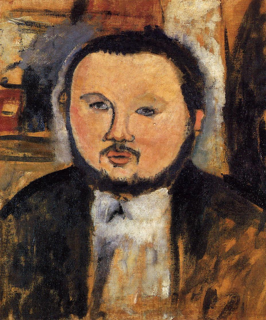 Diego Rivera by Amedeo Modigliani (1914)