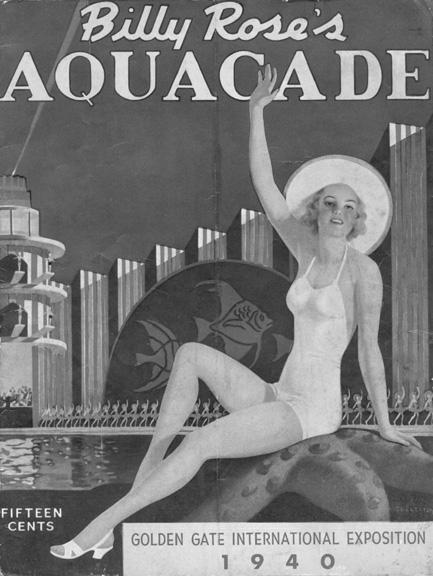 Billy Rose's Aquacade Program