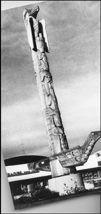 Dudley Carter's Totem, Courtesy of Roger Baird
