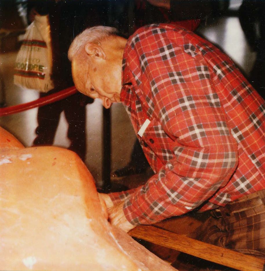 Dudley Carter restoring the Ram