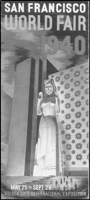 San Francisco World Fair Brochure, 1940